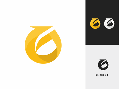 G Initial Monogram Logo flat vector ui minimal graphic design art design branding icon logo