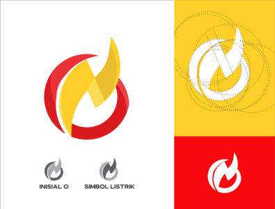 Electric Logo vector illustrator app web minimal graphic design art design logo icon