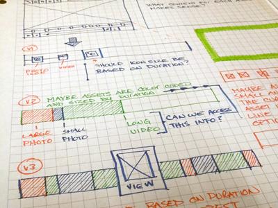 Wireframes Continued wireframe sketch hand drawn grid ui ui design