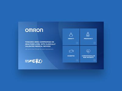 Application for Omron (2018)  /01 illustrator graphic design illustration design ux ui