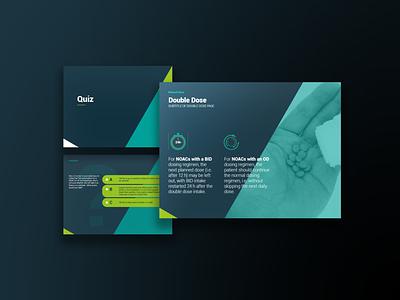 iPAct e-learning module (2) flat illustrator graphic design