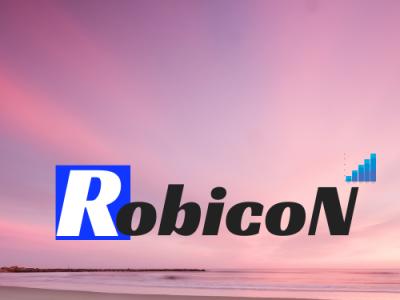 RobicoN - a Demo Logo logo design logodesign design icon logo