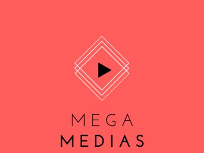 Mega Medias - A Demo Logo for Explore logo design design logodesign logo