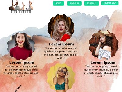 Pro Dancers - A Website Template Design web page design template design template design web template