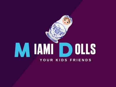 Miami Dolls logo designer my logo design best logo design design icon icon design logo design logo