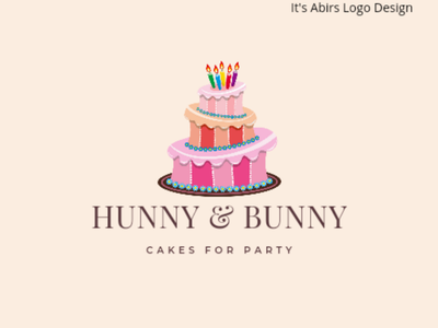 Hunny Bunny - Logo Design best logo design 3d design 3d logo design icon design logo design icon logo logodesign