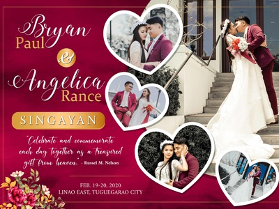 bryan 7x5 ft wedding banner 01