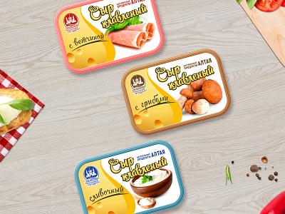 Сheese packaging design design