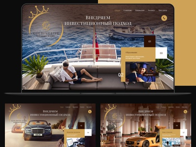 Goldinglife design ui web