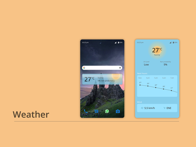 DailyUI#037 - Weather weather forecast weather app android app widget mobile ui mobile design dailyui037 dailyuichallenge daily 100 challenge ui design ui dailyui