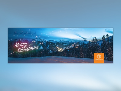 LandCentral Christmas Banner Ad