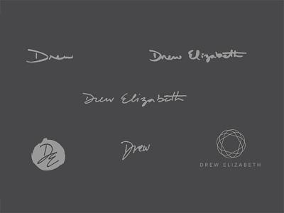 Early Logo Ideas hand lettering logotype logo design logos
