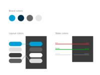 UI starter color organization