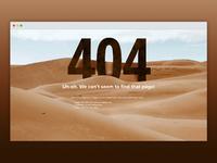 Daily ui 008   404 sand