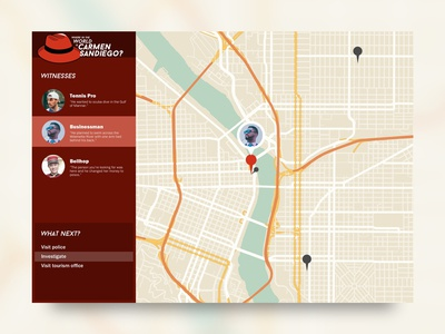 Daily UI 020: Location Tracker