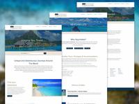 NewAdventures.com design & development