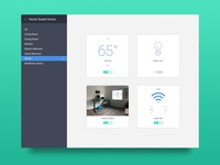 Daily UI 021: Home Monitoring Dashboard