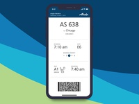 Daily UI 024: Boarding Pass