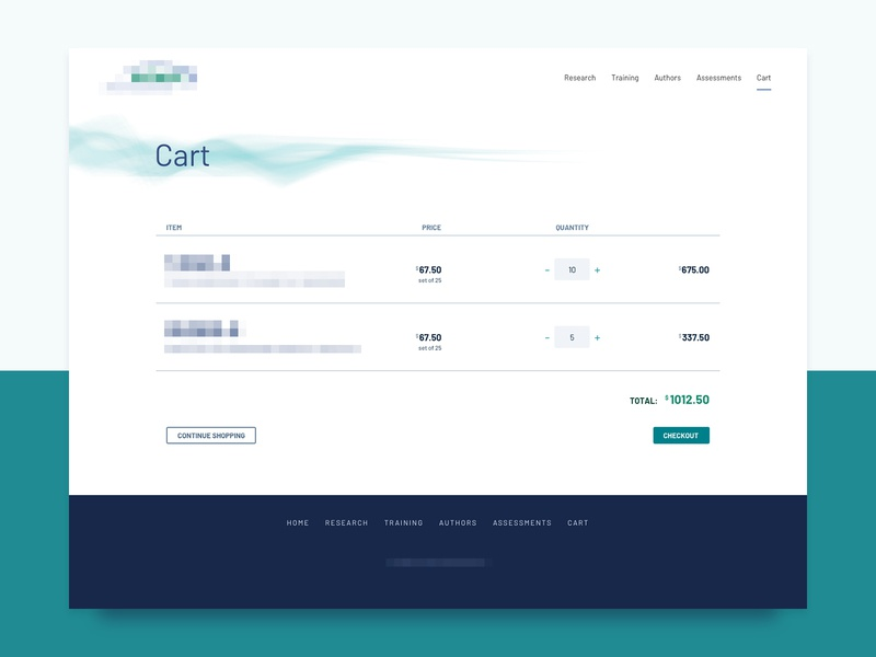 Simple Cart ecommerce cart ui web design