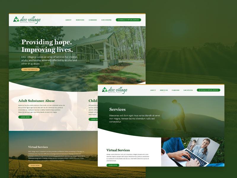 Rehab website design (WIP) website drug and alcohol rehabilitation homepage design ui website design web design