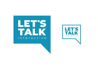 Let's Talk Interactive logo redesign logo company logo telehealth logo telemedicine logo logo redesign branding logo design