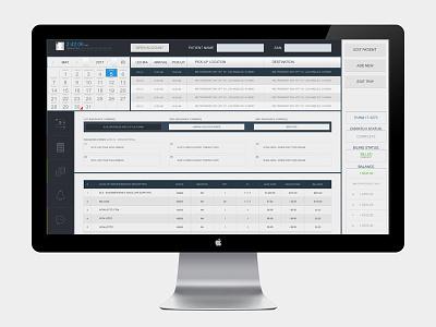 EMS Software UI Design ux ui user interface software billing emergency