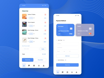 Daily UI Challenge 2 - Credit Card Checkout mobile app graphic design challenge checkout credit card