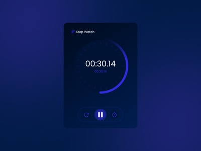 Daily UI Challenge - 014 - Countdown Timer glassmorphism nft design uxdesign graphic design challenge uidesign uiux dailyui timer cointdown stopwatch ui