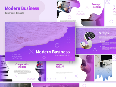 Modern - Business Presentation Template modern minimalist presentation template key pptx interaction graphic design design agency company corporate business keynote google slides powerpoint template presentation