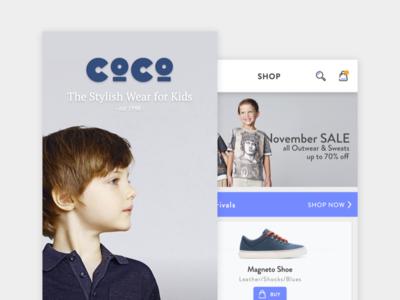 Stylish Wear for Kids mobile app