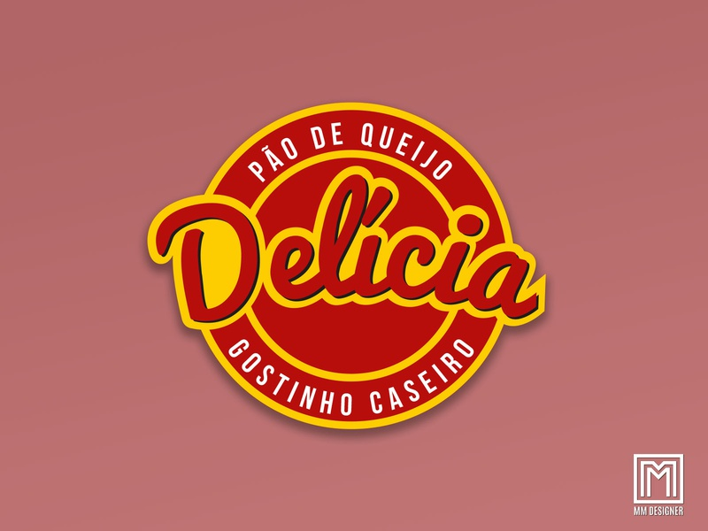 Pão de Queijo Delícia - Branding branding mmdesigner packing sticker businesscard logo design