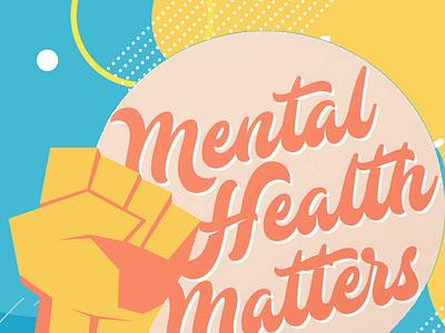 Mental Health Matters logodesign typography logo design