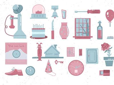 RustyLake home game illustration