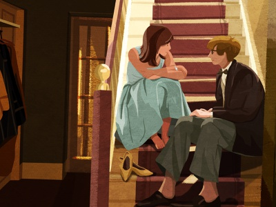 The Theory of Everything love movie illustration