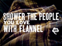 Woodtype + Flannel = Love