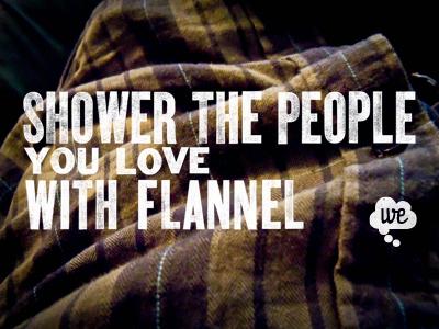 Woodtype + Flannel = Love