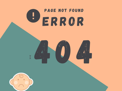 404 Page 404 error page 404 page daily ui daily 100 challenge dailyui8