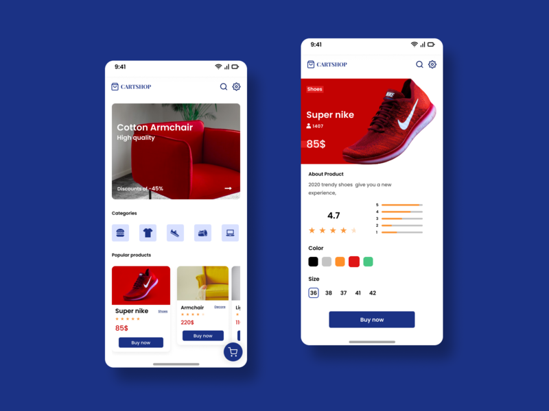 E-commerce App UI with a amazing UX   🔥 🔥 uidesign mobile web graphic design website design illustration animation ui icon app ux