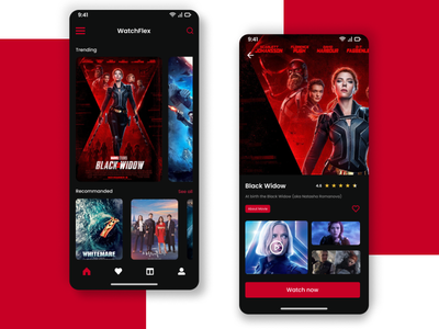 Awesome UI Movies App with a great UX 🔥🔥 app design mobile app mobile app web website mobile ui ui ux uidesign graphic design design animation