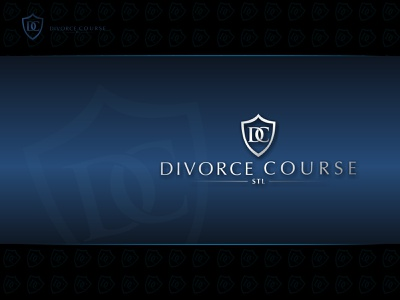 Divorce Course design branding logo