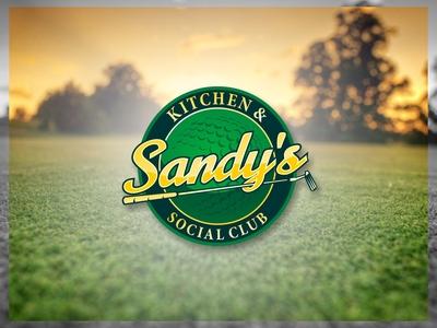 Sandy's design branding logo