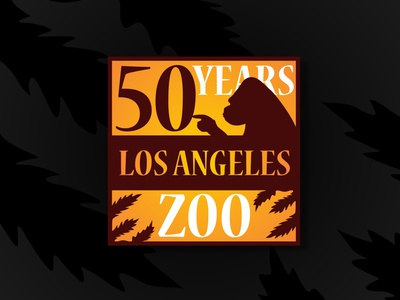 L.A. Zoo design logo