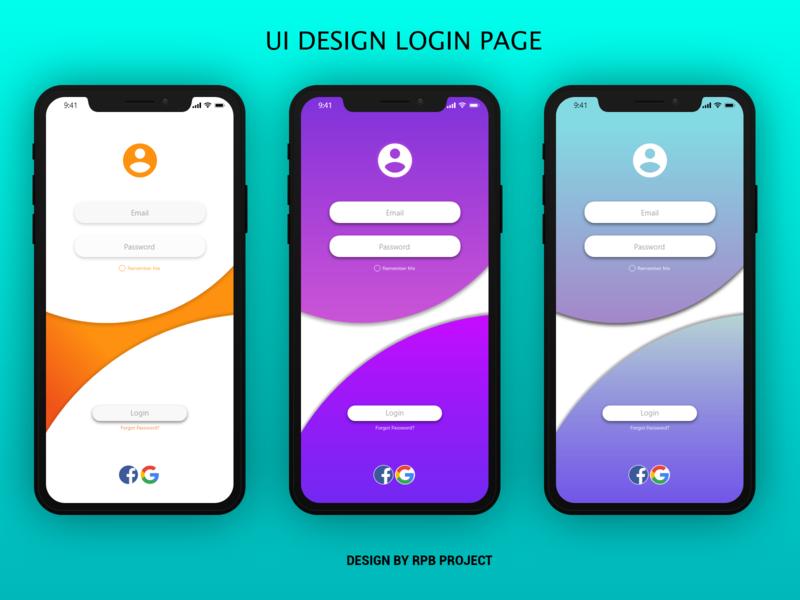 UI DESIGN LOGIN PAGE web minimal ux uidesigner uidesign ui design branding app