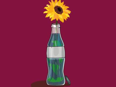 Terrabottle vector minimal logo illustrator illustration graphic design flat design branding art