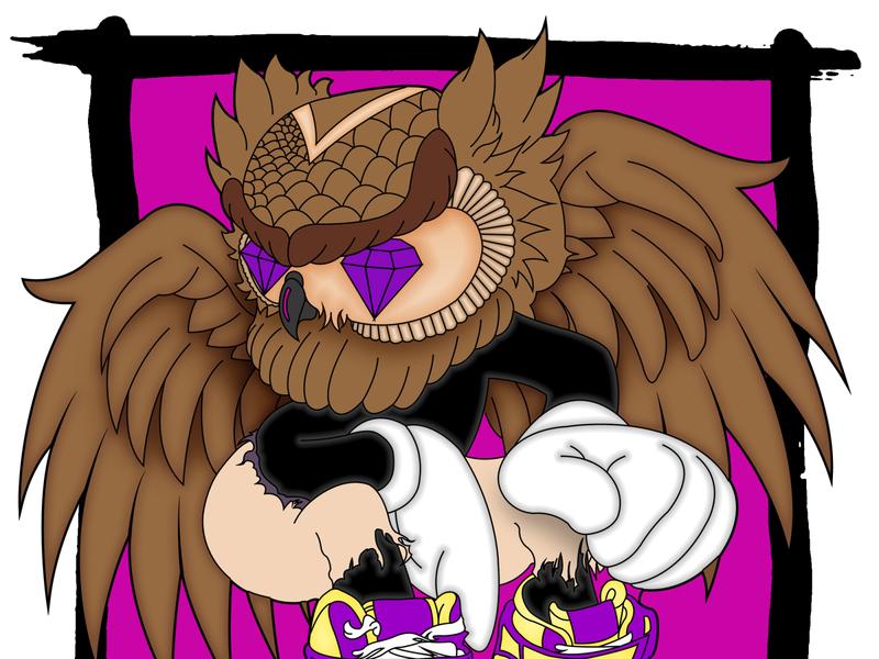 Custom Painted Owl Graphic Denim Jacket art illustrator vector logo sketch custom denim painting icon design branding illustration