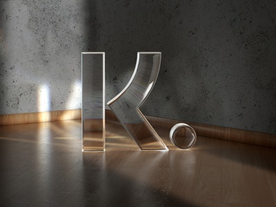 K. illustration logo animation 3d modeling poster klarna animation ui branding icon logo 3d illustration 3d icon 3d art 3d