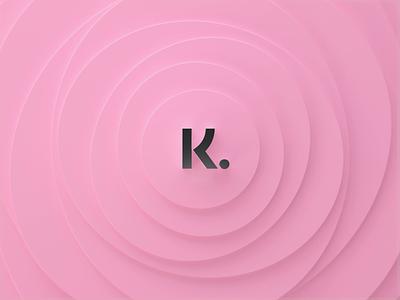 Klarna Breath redshift branding motion smoooth smooth wave design icon logo animation 3d animation motion design lettering logo