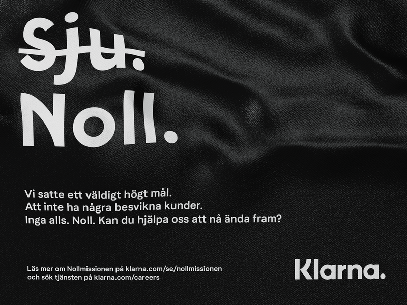 Nollmissionsgeneral poster cinema4d klarna ux typography icon design branding ui wrinkles poster 3d