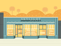 Skylight Bookstore illustration