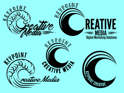 Keypoint Creative Media branding design logo